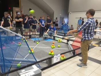 Robotics Team at Competition